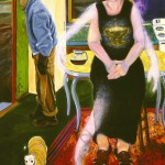 American Gothic, 48X60, oil, 1999