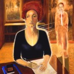 Self Portrait, 48X60, oil, 1996