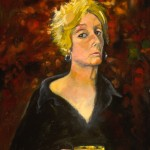 Self Portrait on path (the chalice series), 2005